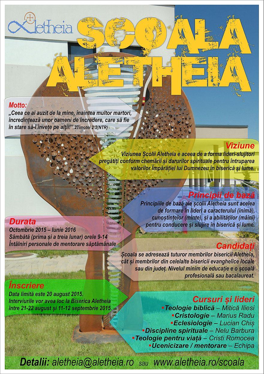 Afis - Scoala Aletheia